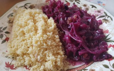 LOMBARDA CON COUS COUS